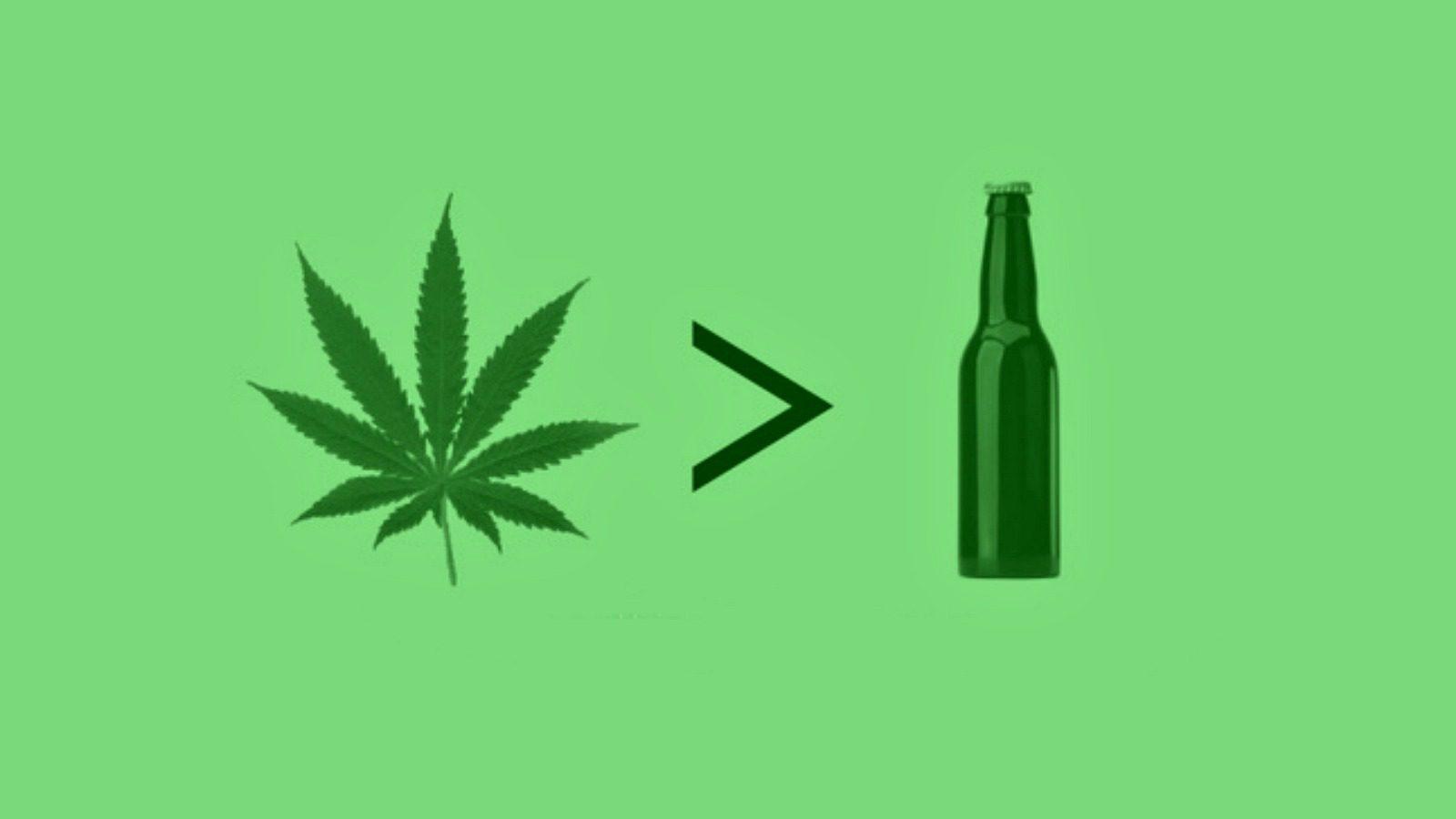 Marihuana pomaga rzucić