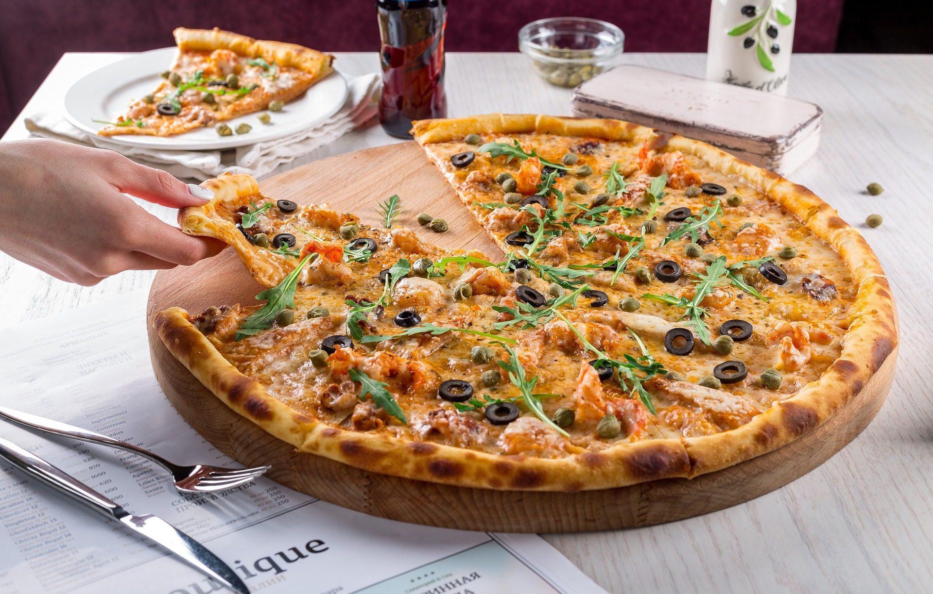 Pizza z THC