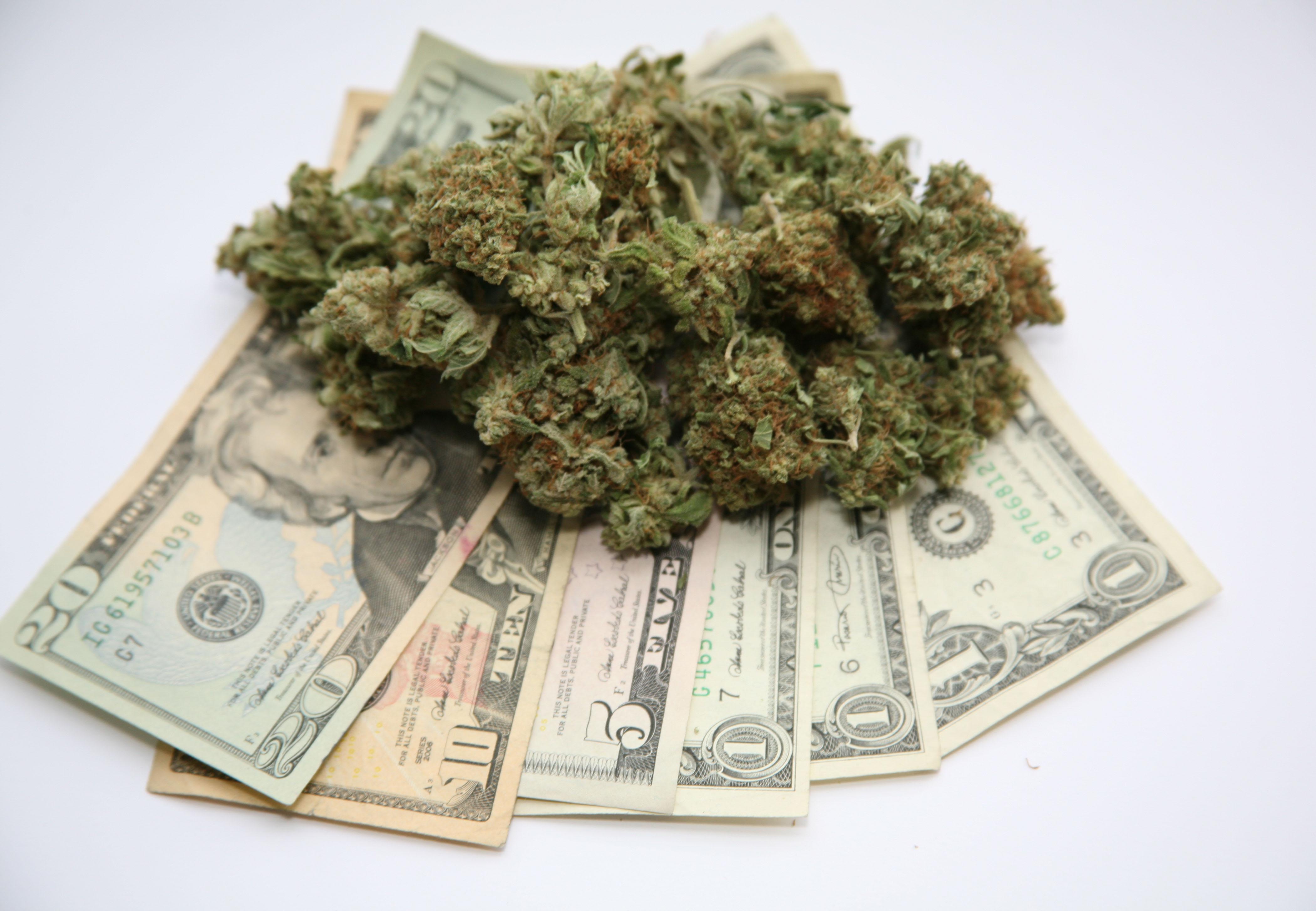 Ceny marihuany systematycznie