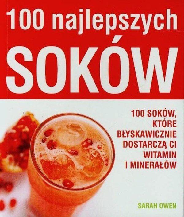 Książka: 100 najlepszych soków