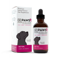 CW PAWS olej z konopi dla zwierząt