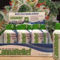 CannaRelief - zmniejsza działanie psychoaktywne THC