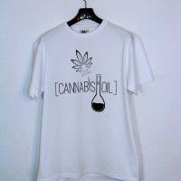 Koszulka Cannabis Oil Biała