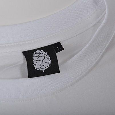 Koszulka Wolne Konopie (Duże Logo Biała)