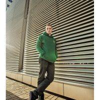 Young Wear Bluza z kapturem Zielona