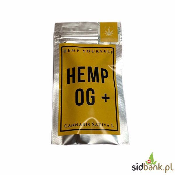 Hemp OG Plus susz CBD z konopi siewnej