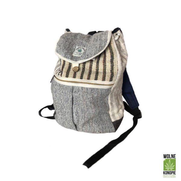 Plecak z konopi