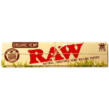 Bibułki RAW Kingsize Slim Organic