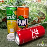 Schowek Puszka Coca Cola