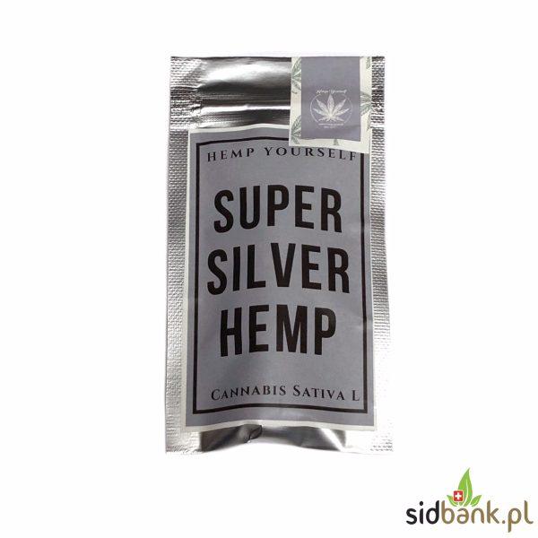 Super Silver Hemp susz CBD z konopi siewnej