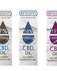 Olej konopny CBD Encann 10ml