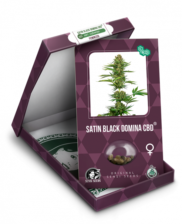 Satin Black Domina CBD