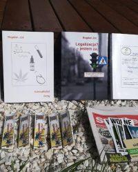Zestaw książek o konopiach Bogdana Jota