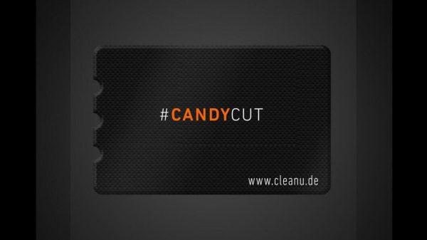 Karta Candy Cut